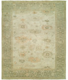 RugStudio presents Famous Maker Kozoa 100122 Linen Sage Hand-Knotted, Best Quality Area Rug