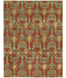 RugStudio presents Famous Maker Legend 100020 Paprika Hand-Knotted, Best Quality Area Rug