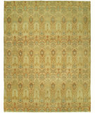 RugStudio presents Famous Maker Legend 100022 Honey Dew Hand-Knotted, Best Quality Area Rug