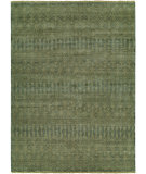 RugStudio presents Famous Maker Miran 100488 Teal Blue Hand-Knotted, Best Quality Area Rug