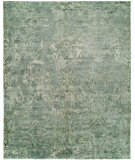 RugStudio presents Famous Maker Milla 100160 Ocean Blue Hand-Knotted, Best Quality Area Rug