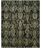RugStudio presents Famous Maker Milla 100162 Onyx Hand-Knotted, Best Quality Area Rug