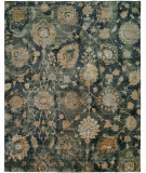RugStudio presents Famous Maker Milla 100164 Indigo Hand-Knotted, Best Quality Area Rug
