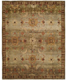 RugStudio presents Famous Maker Murrow 100560 Moss Hand-Knotted, Best Quality Area Rug