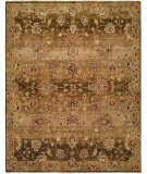 RugStudio presents Famous Maker Murrow 100561 Mocha Mist Hand-Knotted, Best Quality Area Rug