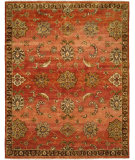 RugStudio presents Famous Maker Murrow 100563 Rust Hand-Knotted, Best Quality Area Rug