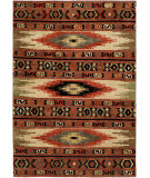 RugStudio presents Famous Maker Mojore 100695 Multi Hand-Knotted, Best Quality Area Rug