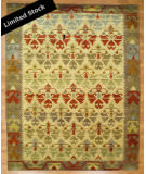RugStudio presents Famous Maker Mojore 100701 Multi Hand-Knotted, Best Quality Area Rug