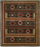 RugStudio presents Famous Maker Mojore 100702 Slate Hand-Knotted, Best Quality Area Rug