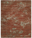 RugStudio presents Famous Maker Oracle 100766 Rust Mist Hand-Knotted, Best Quality Area Rug
