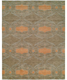 RugStudio presents Famous Maker Portico 100354 Mink Ginger Hand-Knotted, Best Quality Area Rug