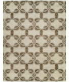RugStudio presents Famous Maker Portico 100357 Sepia Hand-Knotted, Best Quality Area Rug