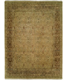 RugStudio presents Famous Maker Pastire 100992 Tan Coffee Hand-Knotted, Best Quality Area Rug