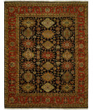 RugStudio presents Famous Maker Pastire 100994 Ebony Hand-Knotted, Best Quality Area Rug