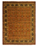RugStudio presents Famous Maker Pastire 100995 Cinnamon Hand-Knotted, Best Quality Area Rug