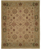 RugStudio presents Famous Maker Soumak 100265 Ivory Light Green Area Rug