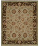 RugStudio presents Famous Maker Soumak 100266 Light Blue Brown Area Rug