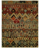 RugStudio presents Famous Maker Soumak 100479 Boho Multi Area Rug
