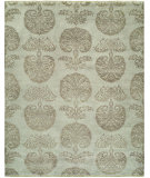 RugStudio presents Famous Maker Venice 100546 Ivory Hand-Knotted, Best Quality Area Rug