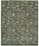 RugStudio presents Famous Maker Venice 100547 Sand Grey Hand-Knotted, Best Quality Area Rug