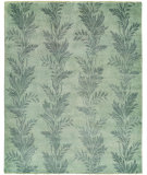 RugStudio presents Famous Maker Venice 100548 Blue Mist Hand-Knotted, Best Quality Area Rug