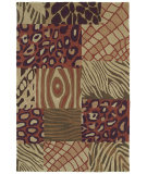 RugStudio presents Kaleen Crowne Tutor Brown 1701 Hand-Tufted, Better Quality Area Rug
