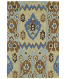 RugStudio presents Kaleen Crowne Chamberlin Blue 1703 Hand-Tufted, Better Quality Area Rug
