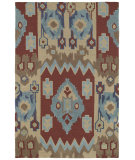 RugStudio presents Kaleen Crowne Chamberlin Red 1703 Hand-Tufted, Better Quality Area Rug