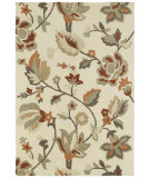 RugStudio presents Kaleen Crowne Baldwin Ivory 1704 Hand-Tufted, Better Quality Area Rug