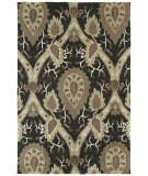 RugStudio presents Kaleen Crowne Oberon Charcoal 1705 Hand-Tufted, Better Quality Area Rug