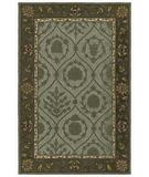 RugStudio presents Kaleen Home and Porch Tuner Creek Robins Egg 2007-61 Hand-Tufted, Good Quality Area Rug