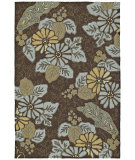 RugStudio presents Kaleen Home and Porch Morning Glory Robins Egg 2018-61 Hand-Tufted, Good Quality Area Rug