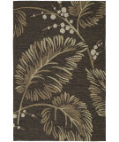 RugStudio presents Kaleen Home and Porch Palmyra Chocolate 2025-40 Hand-Tufted, Good Quality Area Rug