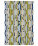 RugStudio presents Kaleen Home And Porch 2034-17 Blue Machine Woven, Good Quality Area Rug
