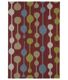 RugStudio presents Kaleen Home And Porch 2035-25 Red Machine Woven, Good Quality Area Rug