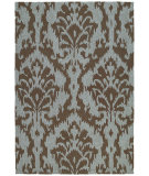 RugStudio presents Rugstudio Sample Sale 66736R Mocha 2106 Hand-Hooked Area Rug