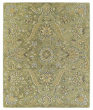 RugStudio presents Kaleen Helena 3205-50 Green Hand-Tufted, Good Quality Area Rug