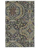 RugStudio presents Kaleen Helena 3206-73 Pewter Hand-Tufted, Best Quality Area Rug