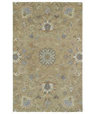 RugStudio presents Kaleen Helena 3207-82 Light Brown Hand-Tufted, Best Quality Area Rug