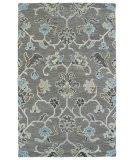 RugStudio presents Kaleen Helena 3209-75 Grey Hand-Tufted, Best Quality Area Rug