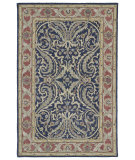 RugStudio presents Kaleen Solomon 4050-17 Blue Hand-Tufted, Good Quality Area Rug