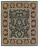RugStudio presents Kaleen Solomon 4052-68 Graphite Hand-Tufted, Good Quality Area Rug