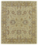 RugStudio presents Kaleen Solomon 4053-05 Gold Hand-Tufted, Good Quality Area Rug