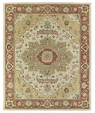 RugStudio presents Kaleen Solomon 4054-05 Gold Hand-Tufted, Good Quality Area Rug