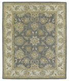 RugStudio presents Kaleen Solomon 4056-73 Pewter Hand-Tufted, Good Quality Area Rug