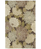 RugStudio presents Kaleen Botany Putina Brown 4401 Area Rug
