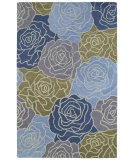 RugStudio presents Kaleen Botany Fennel Blue 4405 Area Rug