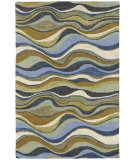RugStudio presents Kaleen Casual Alder Blue 5050 Hand-Tufted, Good Quality Area Rug