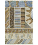 RugStudio presents Kaleen Casual Zekova Chocolate 5052 Hand-Tufted, Good Quality Area Rug