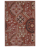 RugStudio presents Kaleen Brooklyn 5302-25 Red Hand-Tufted, Good Quality Area Rug